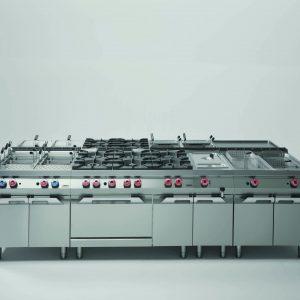 Kooklijn modulair Witech P700
