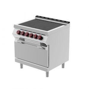 Kooktafels en Fornuizen elektrisch glaskeramisch infrarood